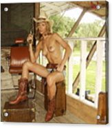 Everglades Cowgirl Acrylic Print