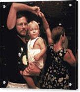 Family Dancing On The Bayou Acrylic Print