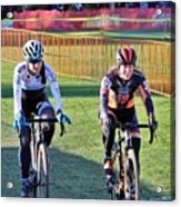 Fearless Femme Racing Acrylic Print