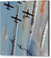 Frecce Tricolori Acrylic Print