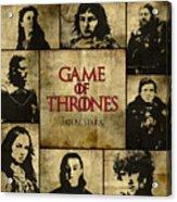Game Of Thrones. House Stark. Acrylic Print