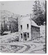 Garnet Ghost Town Montana Acrylic Print