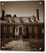 George Mason's Gunston Hall Acrylic Print