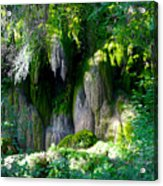 Gormon Falls Colorado Bend State Park.  Acrylic Print