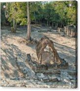 Grupo Coba At The Coba Ruins  Acrylic Print