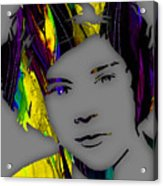 Harry Styles Collection Acrylic Print