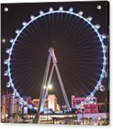 High Roller - Las Vegas Nevada Acrylic Print
