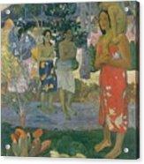 Ia Orana Maria Hail Mary Acrylic Print