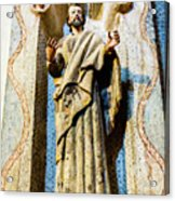 Interior Statue - San Xavier Mission - Tucson Arizona Acrylic Print