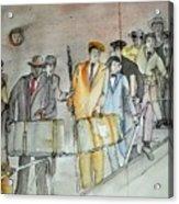Italians  Ellis Island  Prohibition Album Acrylic Print