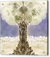 Jerusalem- Tryptich Part  2 Acrylic Print
