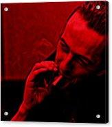Joe Strummer Collection Acrylic Print