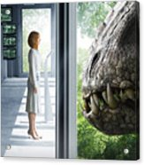 Jurassic World 2015  Acrylic Print