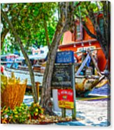 Key West Florida The Conch Republic Acrylic Print