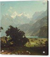 Lake Lucerne Acrylic Print