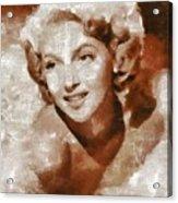Lana Turner Vintage Hollywood Actress Acrylic Print