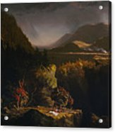 Landscape With Figures Acrylic Print