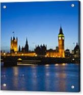 London  Skyline Big Ben Acrylic Print by David French