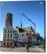 Mechelen Belgium Acrylic Print
