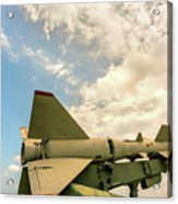 Military Weapons, Ballistic, Anti-aircraft, Medium-range Missile 6 Acrylic Print