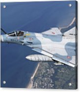 Mirage 2000c Of The French Air Force Acrylic Print