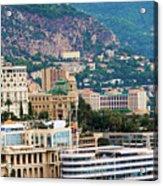 Monte Carlo Cityscape Acrylic Print