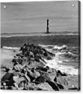 Morris Island Lighthouse Acrylic Print