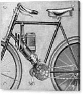 Motorcycle, 1895 Acrylic Print