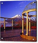 Mount Fuji In Autumn Acrylic Print