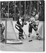Nhl Hockey At The Pacific Coliseum Acrylic Print