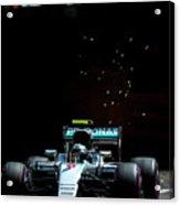 Nico Rosberg Acrylic Print