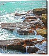 5- Ocean Reef Shoreline Acrylic Print