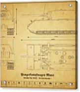 Panzerkampfwagen Maus Acrylic Print