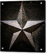 5-pointed Star Acrylic Print
