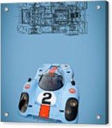 Porsche 917 Acrylic Print