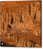 Red Cliffs  Acrylic Print