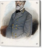 Robert E. Lee (1807-1870) Acrylic Print by Granger