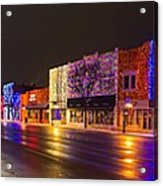 Rochester Christmas Light Display Acrylic Print