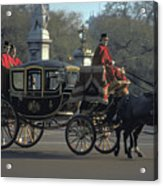 Royal Carriage In London Acrylic Print