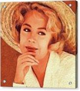 Sandra Dee, Vintage Actress Acrylic Print
