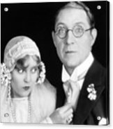Silent Film Still: Wedding Acrylic Print