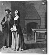 Sir Thomas More (1478-1535) Acrylic Print