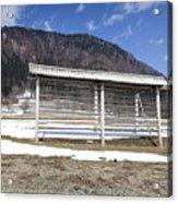 Slovenian Alps Acrylic Print