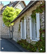 Street Scenes From Giverny France Acrylic Print