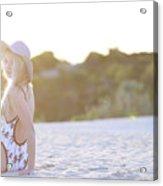Sun Sand Surf Ondine Magazine Ireland Acrylic Print