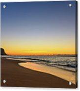 Sunrise Beach Seascape Acrylic Print