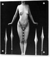 Sword Dance, C1920 Acrylic Print