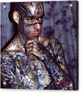 Tattoo Mike Acrylic Print