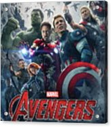 The Avengers Age Of Ultron 2015  Acrylic Print