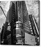 5 Times Square Ernst And Young Tower Headquarters New York City Usa Acrylic Print